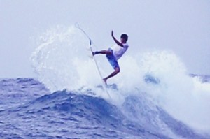 Surfing Lacerations on our Two Day Lembongan Surf Charter