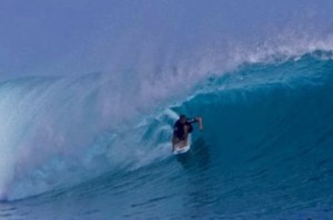 Surfing Scar Reef on our Ultimate Bali Surf Charters