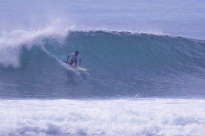 Take off at Serangan Beach, Bali